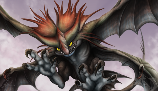 Cloudjumper - HTTYD 2 by Chaluny