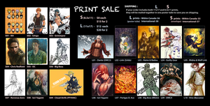 PRINT SALE by MKage