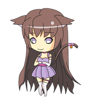 Chibi commission: Sonao by Dimitra25