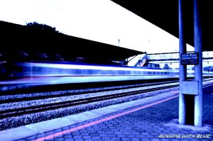 Rushing With Blue by helios1027