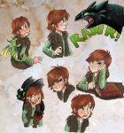 Hiccup Doodles by sharkie19