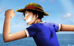 Luffy by banpap