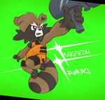 Galaxy no Guardians- Torpedo Tanuki by aftertaster7
