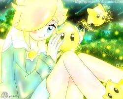 Rosalina and The Lumas by NyandrewB