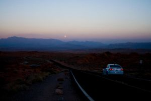 Driving to the Moon by IV47E