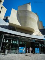 Front of La Cinematheque Francaise by EUtouring