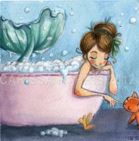 Bath Time by tissa