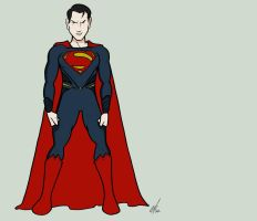 Me as Superman by Kryptoniano