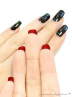 Louboutin Inspired Nails by MissMMayhem