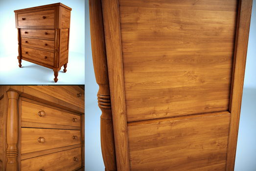 Wood Chest Drawer by Jempelempots