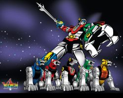 Voltron: Defender of the Universe by gamergaijin
