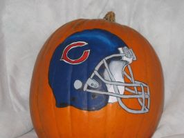 Chicago Bears Helmut by pumpkinmaster