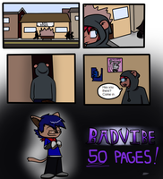 Badvibe page 50: fifty pages later by DrJoshfox