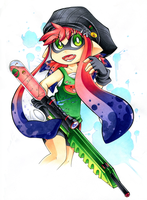 Inkling Melon by Chibi-Nuffie