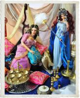 Bollywood BJD dolls Ball jointed dolls by Sutherla by SutherlandArt