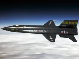 North American X-15 by TMC-Deluxe