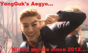 YongGuk's Aegyo. by Kuro-Rabbit
