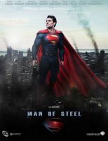 Man of Steel Poster by Kyl-el7