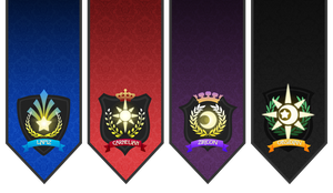 Pokecrusade - Guild Banners by NeonRemix