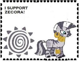 I Support Zecora Stamp! by Teamscout11
