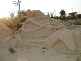 Sand art in burgas 28 by tonev
