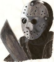 Jason Voorhees by starry-eyedkid