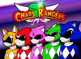 Chaos Rangers by MolochTDL