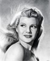 Rita Hayworth by MLS-art