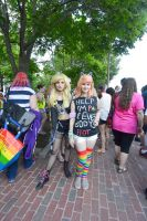 2015 Boston Pride Festival,  Smirk and Smile Pose by Miss-Tbones