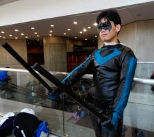 Nightwing Cosplay Pic 3 NYCC 2012 by DKANG0316
