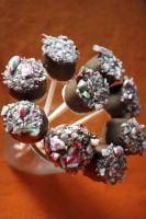 Candy Cane Marshmallow Pops 2 by behindthesofa