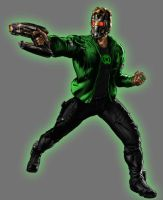 Green Lantern Star Lord by Lord-Lycan