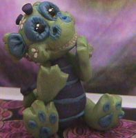 ooak polymer clay dragon by crazylittlecritters