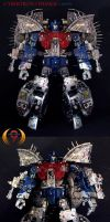 Primus Cybertron Custom by Unicron9