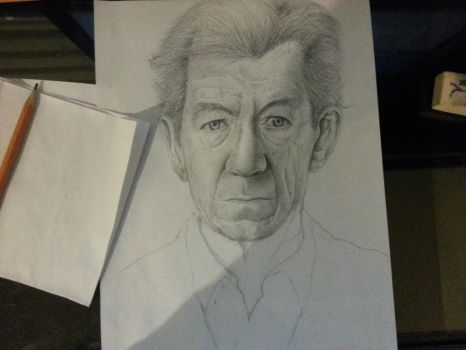 Sir Ian McKellen: Unfinished II by EiDrianDM