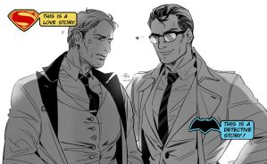 Batman X Superman by LPSSPL