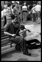 The Street Violinist by Doubtful-Della