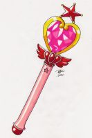Pink Moon Stick by tini