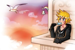 Roxas by AngsTheWicked