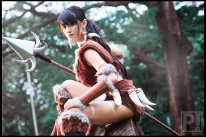Nidalee : League of Legends by emptyfilmroll