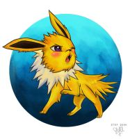 Jolteon by li-jean