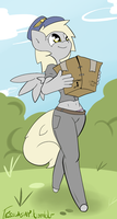 DELIVERIN' PARCELS by TesslaShy