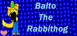 Balto the rabbithog by FoxMew4044
