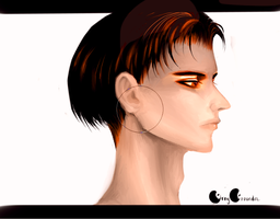 How did my sketch turn into Snk LEVI (OvO) ! by GrayGrounder