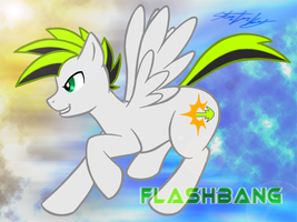 MLP- FanCharacter- FLASHBANG by MolochTDL