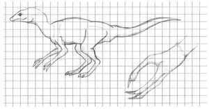 Some Dinosauroid by Dragontunders