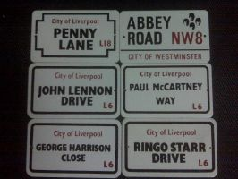 My Beatles Signs by Selenalunarox