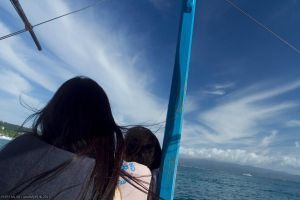Boracay: out at sea 02 by ninjapeps