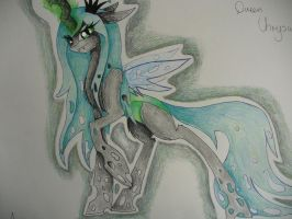 Queen Chrysalis by ArisaChan96