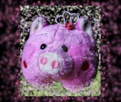 Piggy Princess with Tiara by sweetbabykit